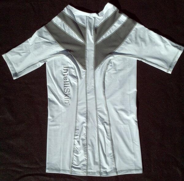 Intelliskin rear of shirt