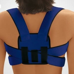 Traditional posture braces can be restrictive and may weaken your core muscles.